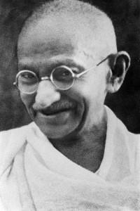 Veränderung Mahatma Gandhi